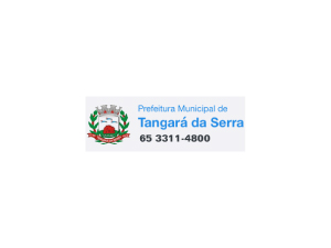 Tangará da Serra/MT - Prefeitura Municipal