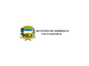 Meridiano/SP - Prefeitura Municipal